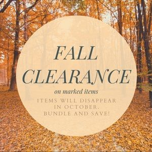 🍁 Clearance Sale! 🍁 look for marked items